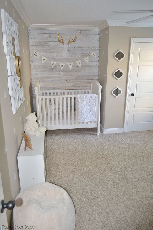 Neutrals and Rustic Décor Translated for the Nursery
