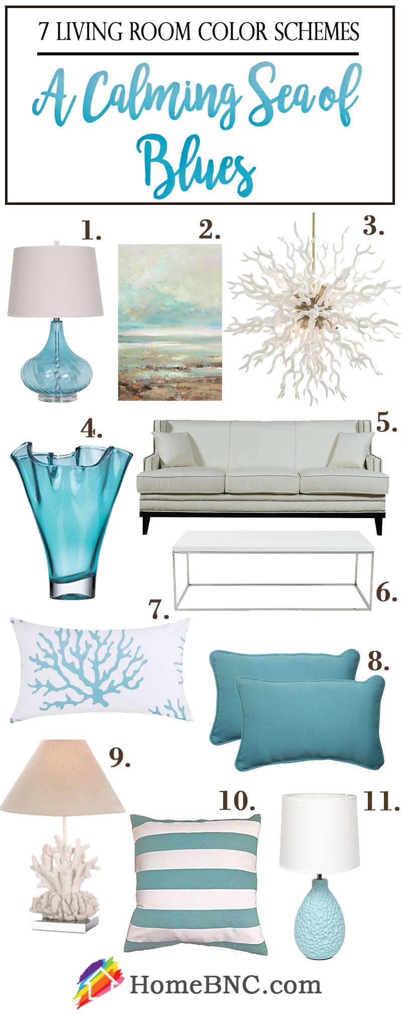Living Room Color Scheme Items