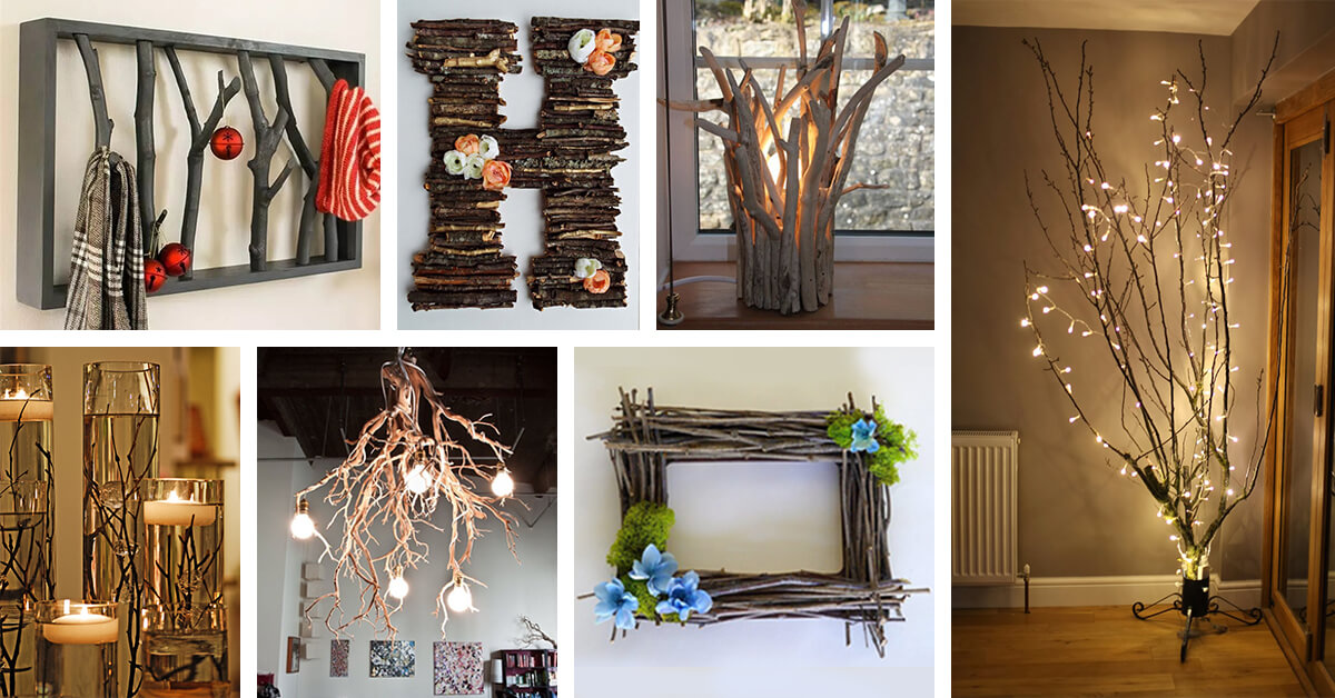 27 Best Branches Decorating Ideas and Designs for 2019