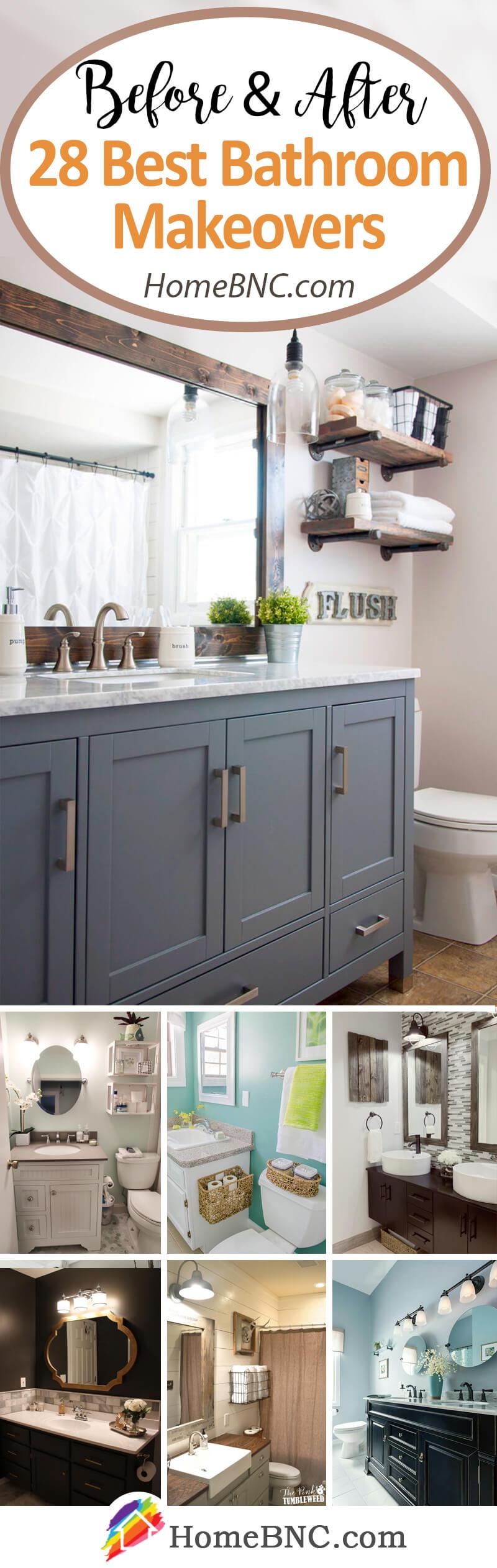Budget Friendly Bathroom Makeover Decor Ideas