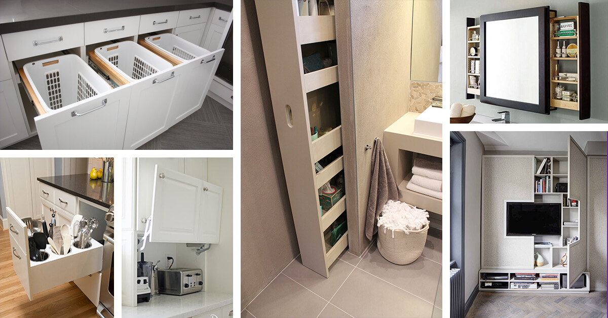 25+ best built-in storage ideas and designs for 2019