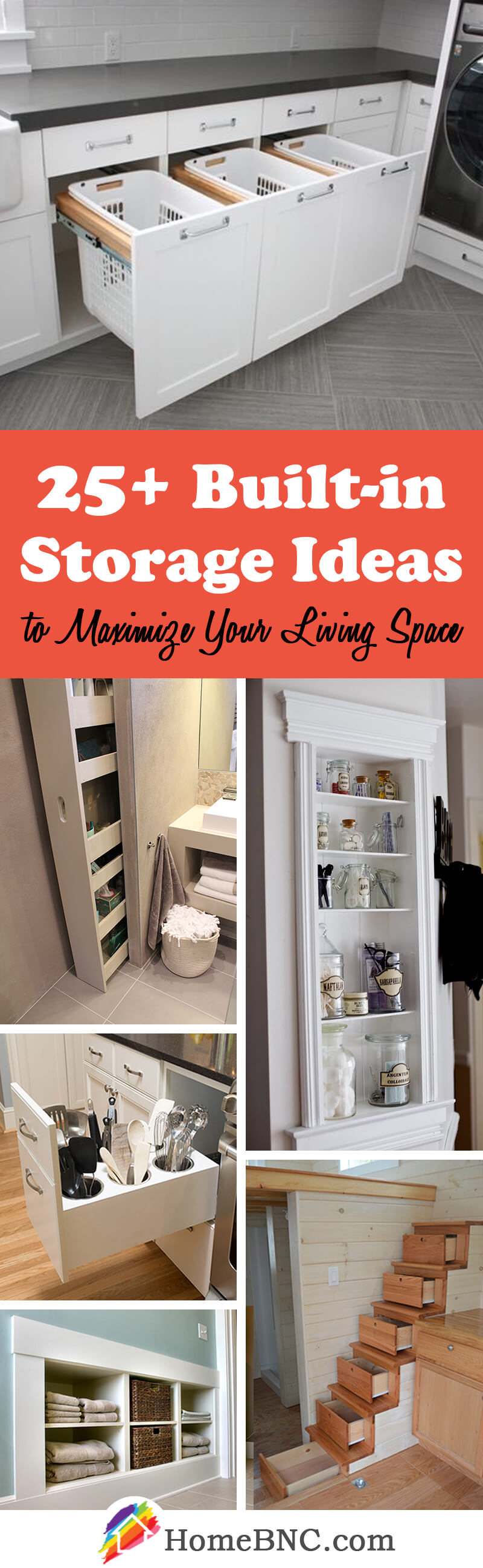 25+ best built-in storage ideas and designs for 2018