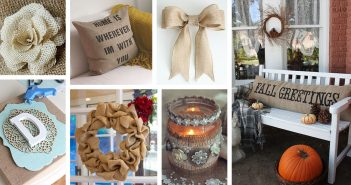 DIY Burlap Decoration Ideas