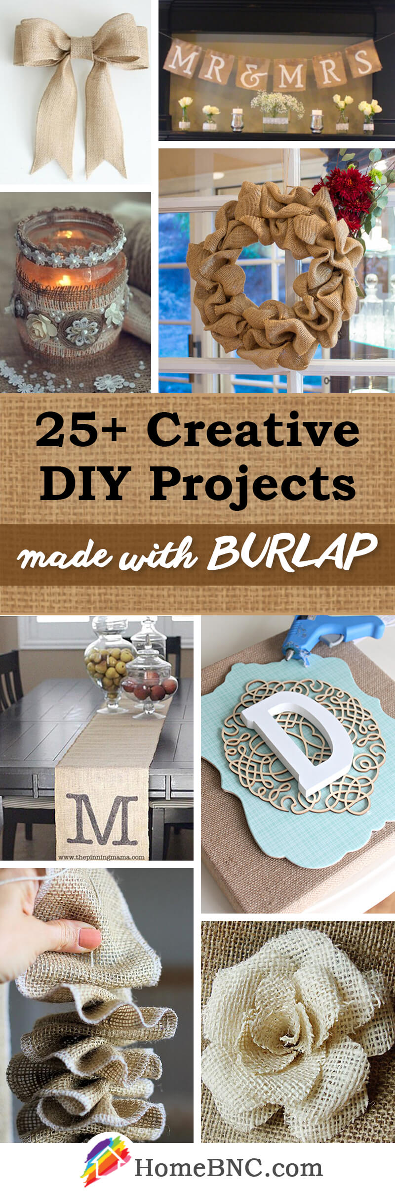 DIY Burlap Decor Ideas