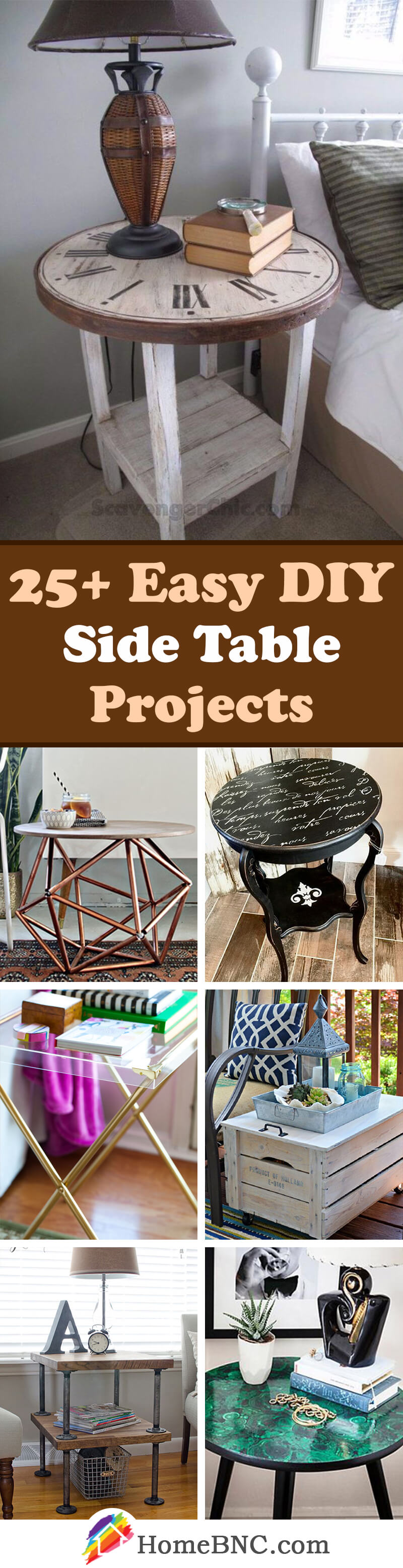 DIY Side Table Decor Ideas