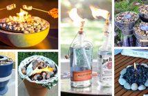 DIY Table Top Fire Bowl Ideas