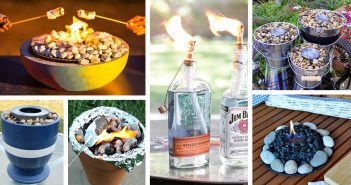 DIY Table Top Fire Bowl Ideas