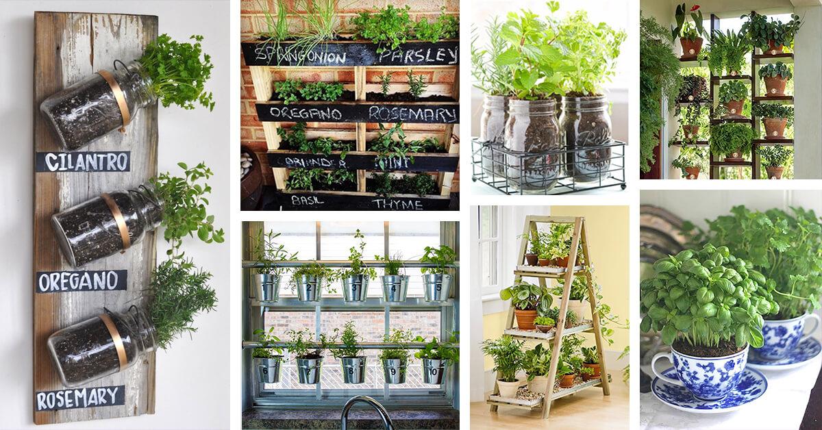 25 Best Herb Garden Ideas And Designs For 2018