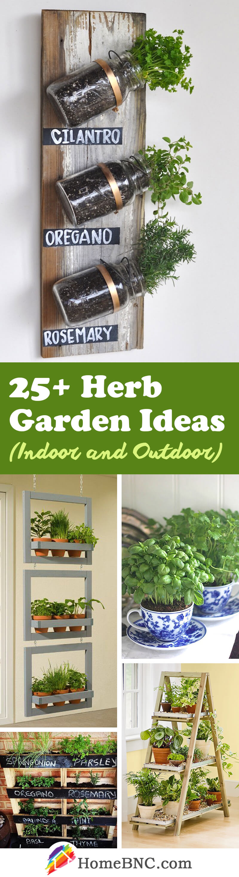 Herb Garden Decor Ideas