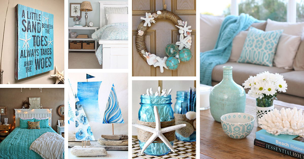 33 best ocean blues home decor inspiration ideas and for Home decorating company bedding