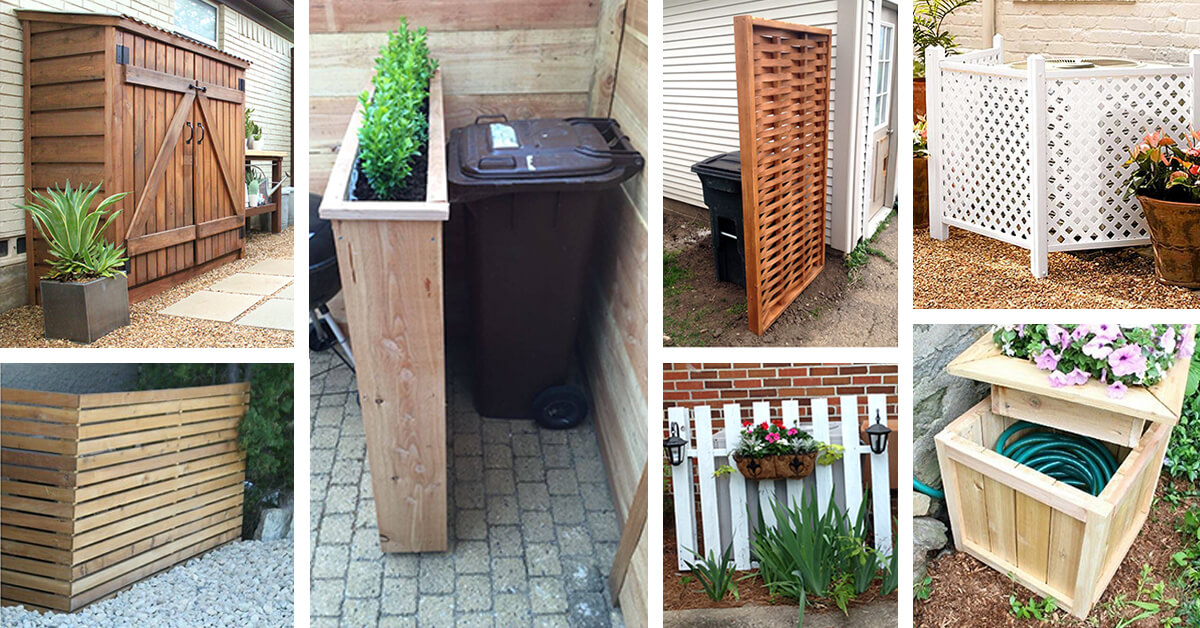 25 Best Outdoor Eyesore Hiding Ideas And Designs For 2017
