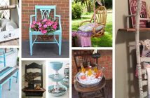 Repurposed Old Chair Ideas