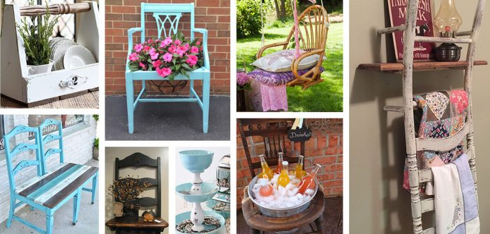 24 Best Repurposed Old Chair Ideas And Designs For 2021