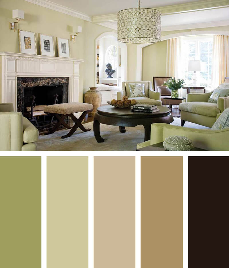Living Room Colors: 11 Best Living Room Color Scheme Ideas And Designs For 2019