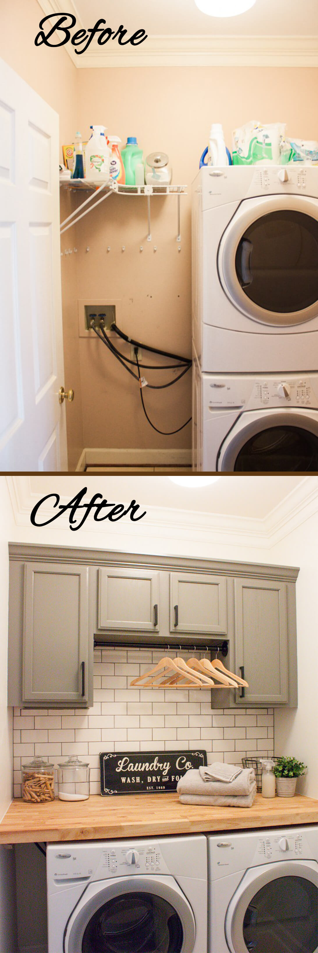 Rustic Laundry Room Ideas For Small Space