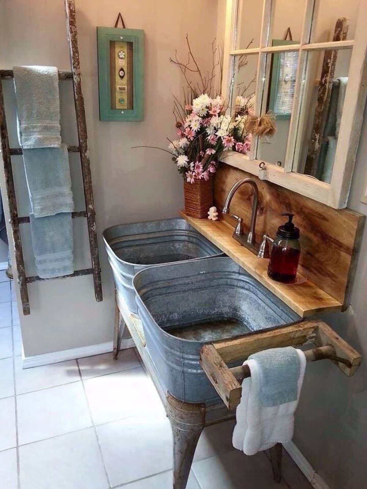 27 Best Galvanized Tub And Bucket Ideas And Designs For 2021