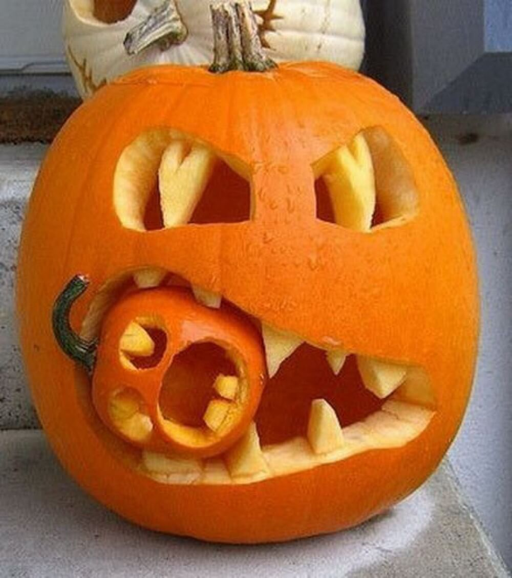 53 best pumpkin carving ideas and designs for 2019 rh homebnc com ideas for carving small pumpkins ideas for pumpkin carving contest