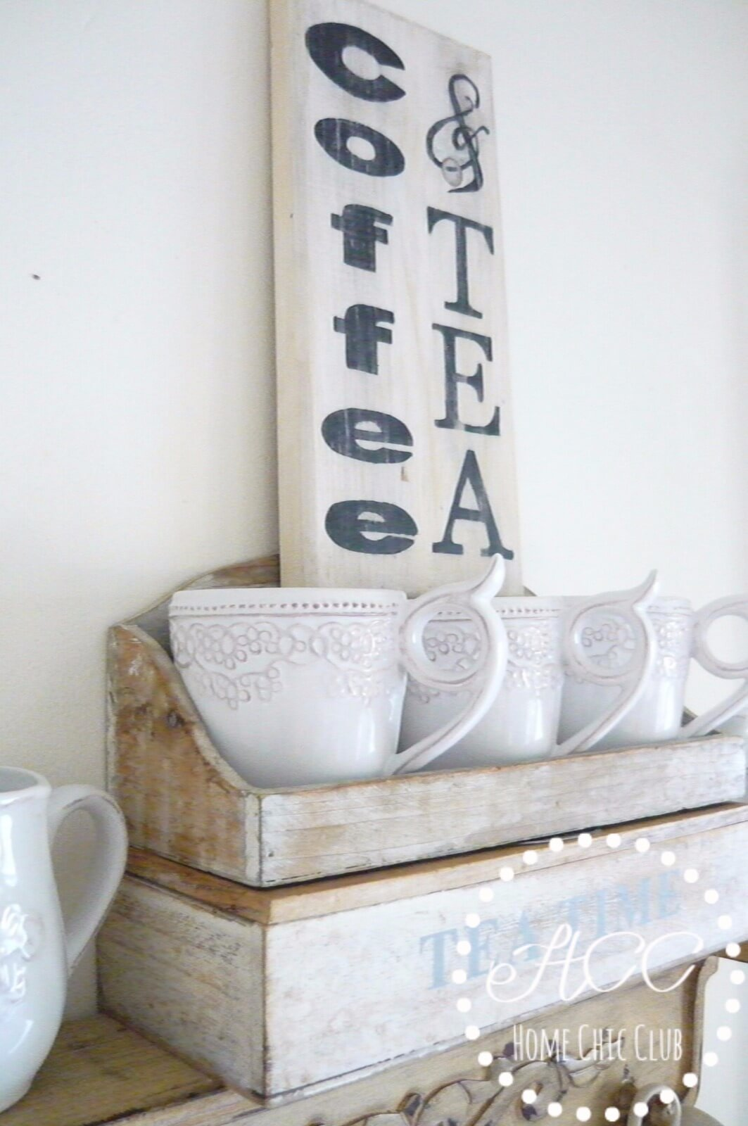 Cozy Coffee and Tea Kitchen Sign