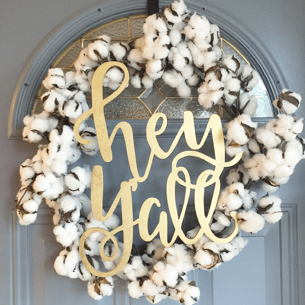 Southern Charm Cotton Field Inspiration
