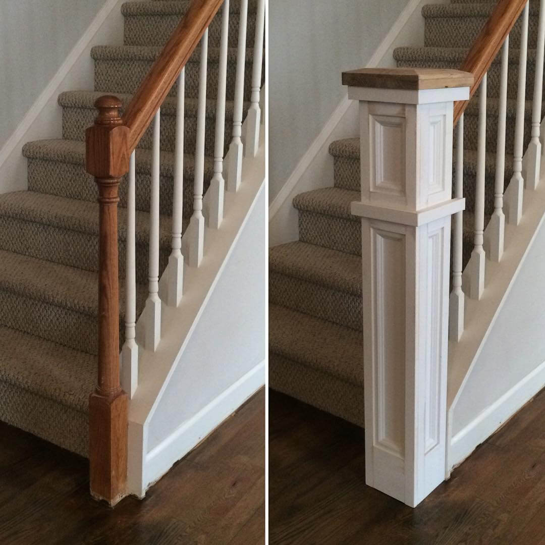 Create A Classic Staircase Newel Post