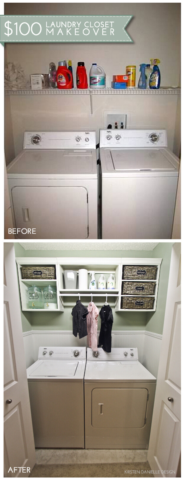 23 Best Budget Friendly Laundry Room Makeover Ideas And Designs For 2021