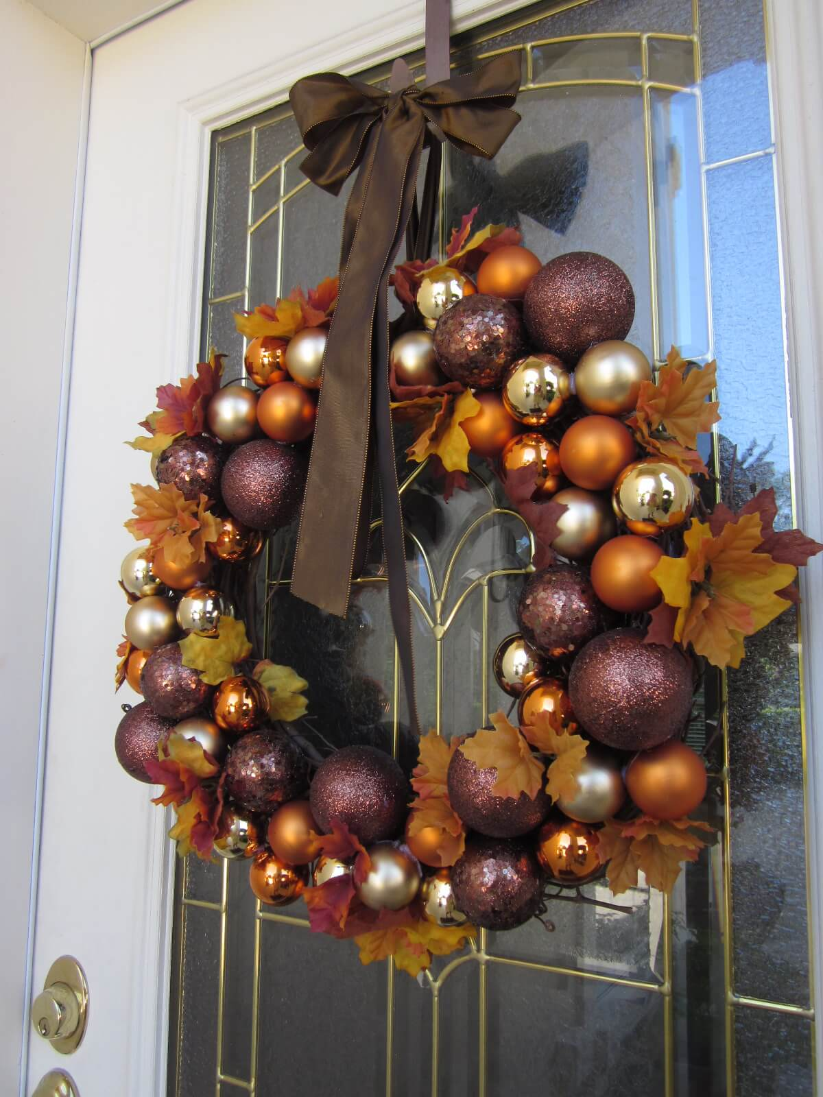 Diy Wreaths For Front Door Christmas Simple