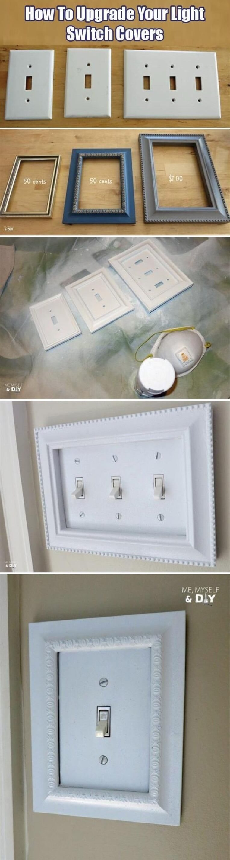 Frame Your Light Switches in Style
