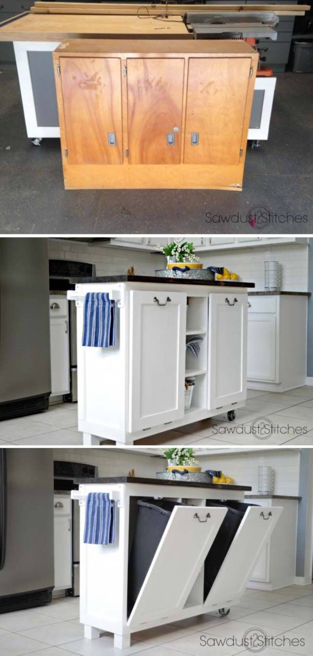 Pull-Out Drawers are Super Space Savers