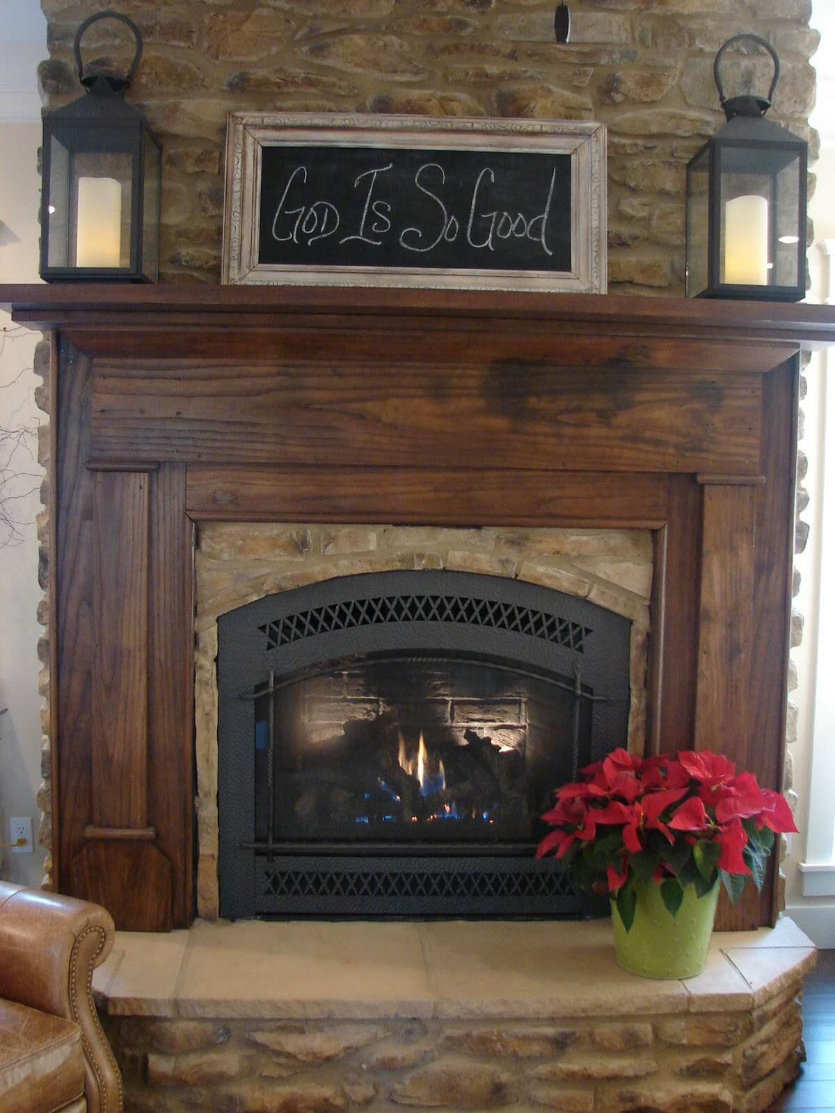 32 best fireplace design ideas for 2019 - Stone fireplace surround ideas ...