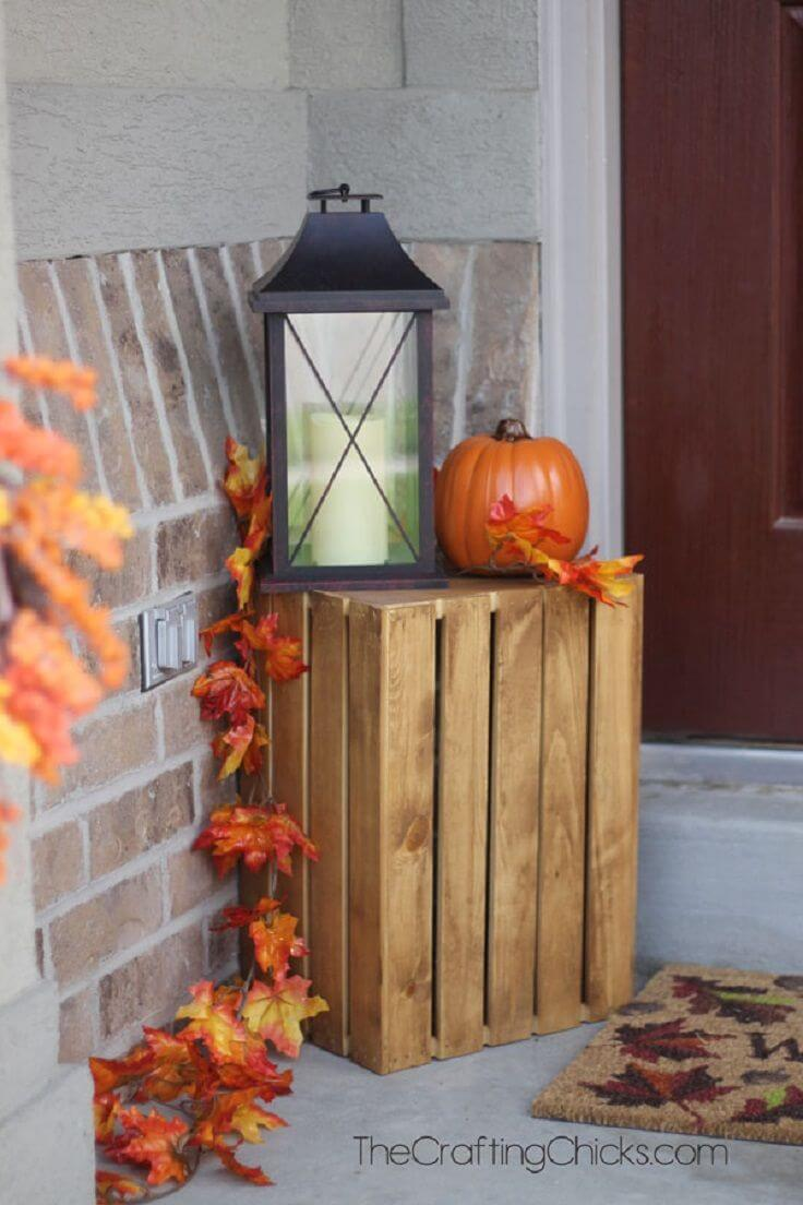 25 best fall front door decor ideas and designs for 2018 for Door design accessories