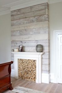 91+ Farmhouse Fireplace Shiplap - Llc Barnwood Redo ...