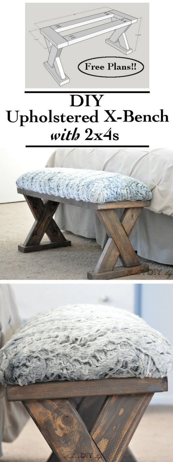 Upholstered Bench for the Bedroom