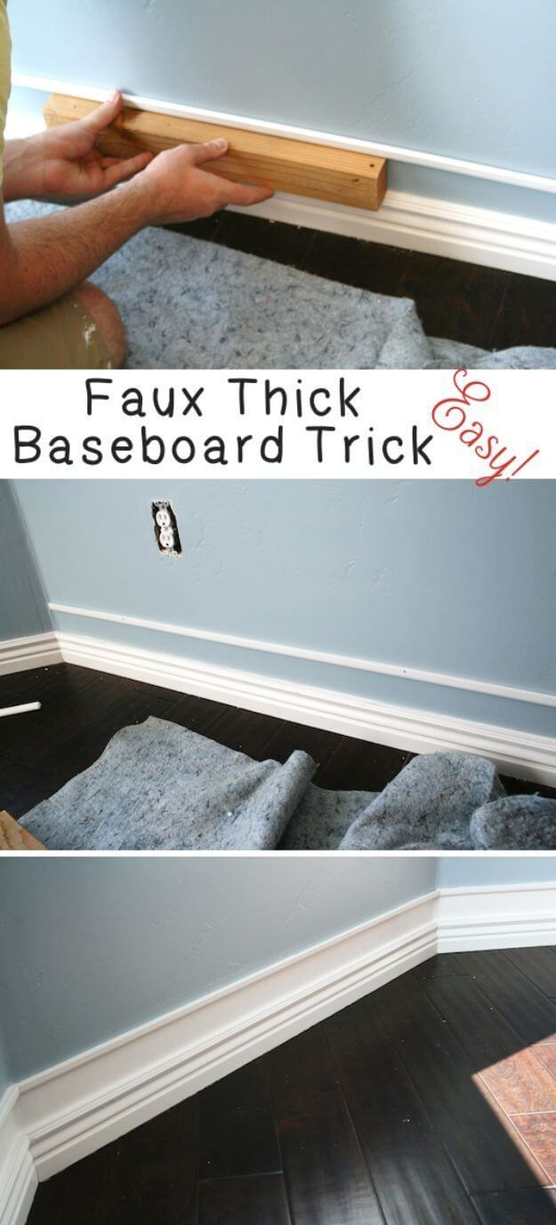 Lift Your Baseboard with a Simple Trick