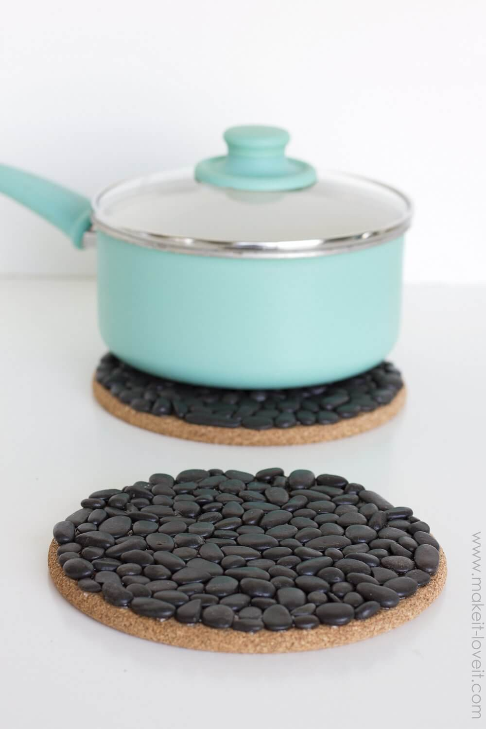 Make This Pretty Little Trivet Featuring Your Stone Collection
