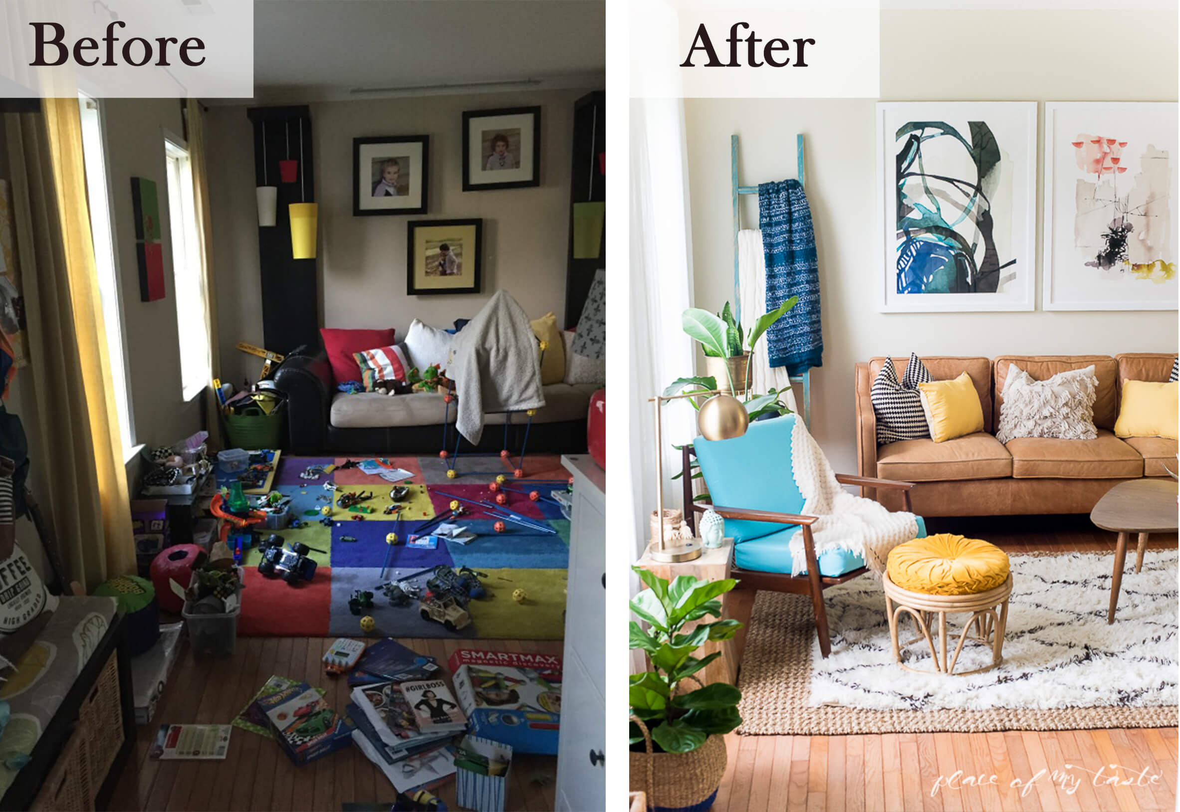 From Play Room to Living Room