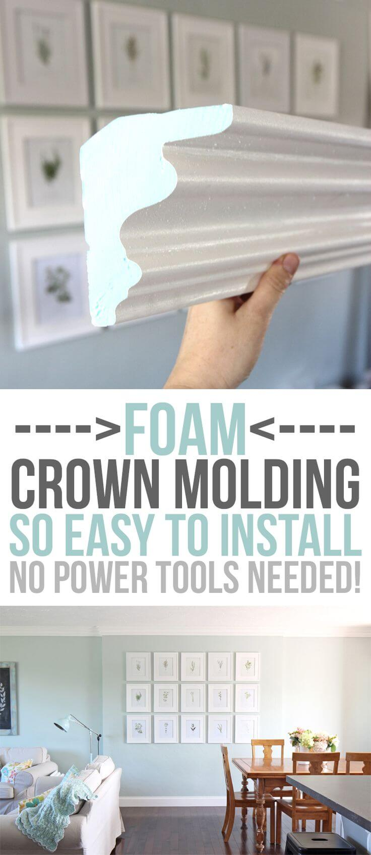 Add Substantial Molding without Power Tools