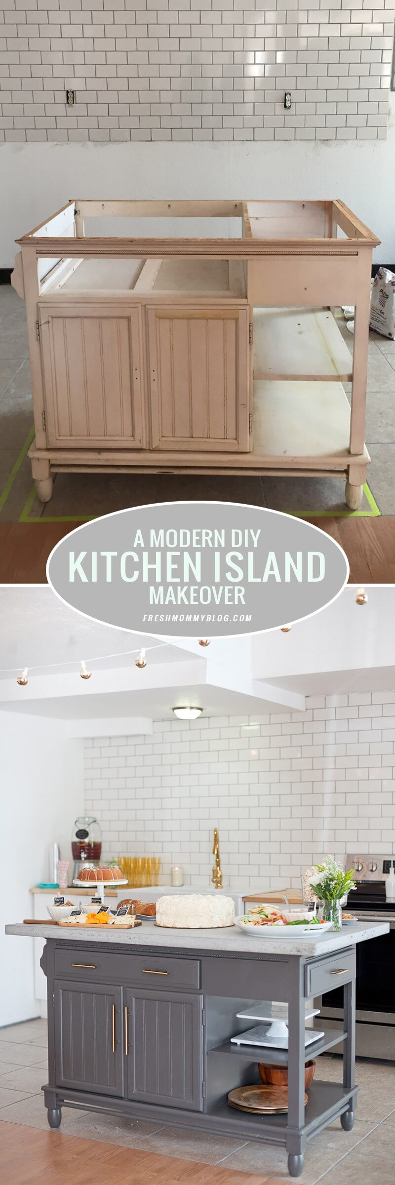 Make a DIY Island that Looks Professional