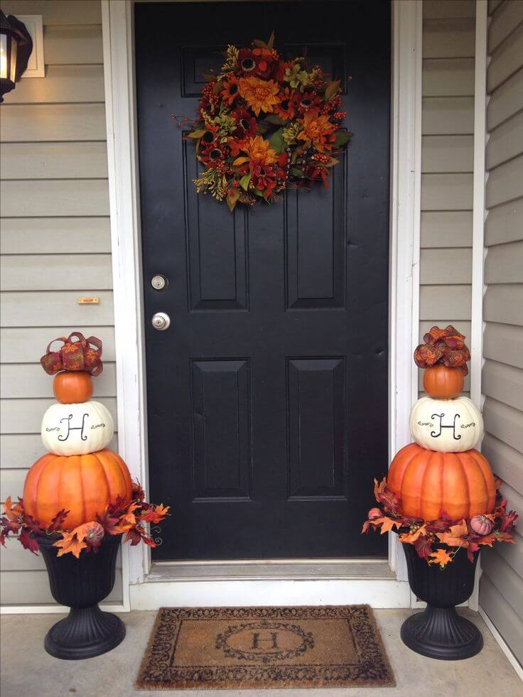 25 Best Fall Front Door Decor Ideas And Designs For 2018