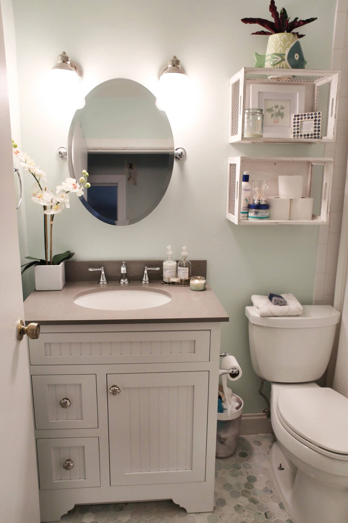 32 Best Over the Toilet Storage Ideas and Designs for 2018