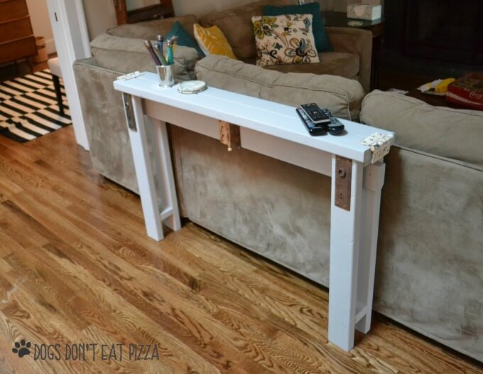 Narrow Behind The Couch Sofa Table