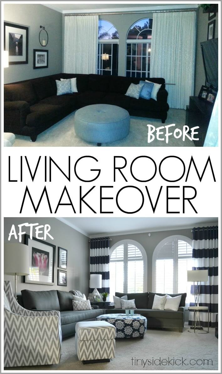 26 best budget friendly living room makeover ideas for 2019 - Decor for small living room on budget ...