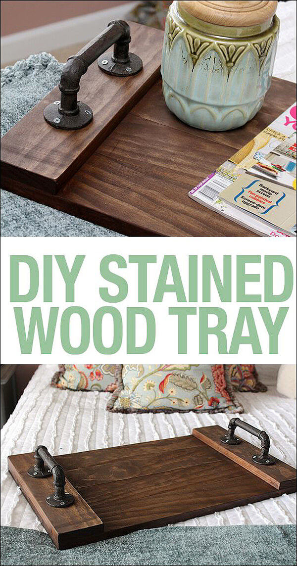 Create a Fabulous Wooden Tray