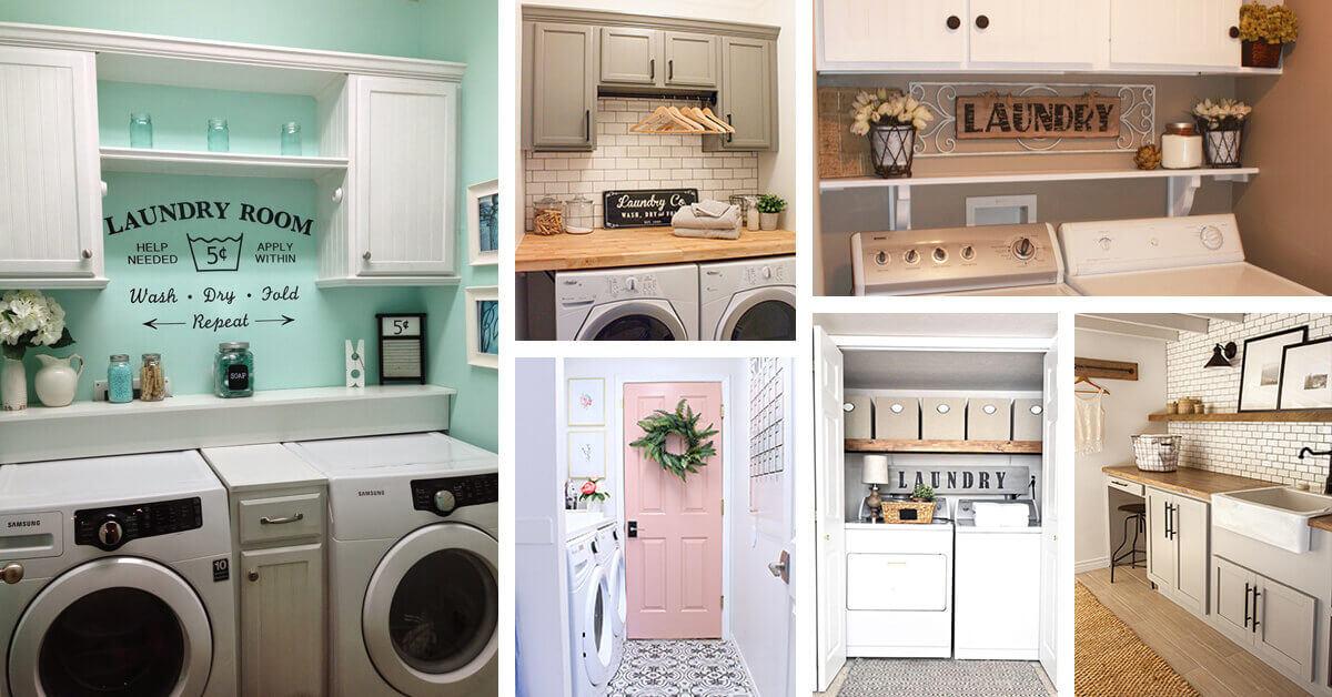 23 Before And After Budget Friendly Laundry Room Makeover Ideas That Will Amaze You