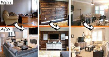 Budget Friendly Living Room Makeover Ideas