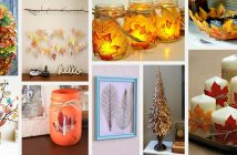 DIY Fall Leaf Craft Ideas