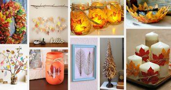 DIY Fall Leaf Craft Ideas