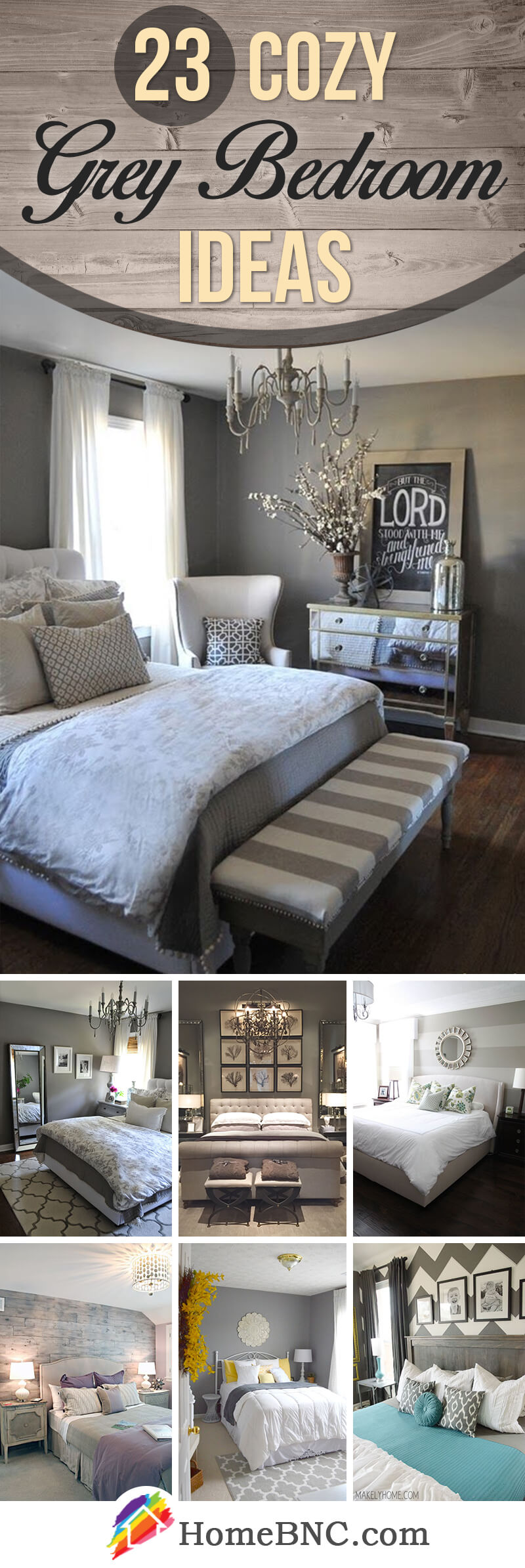 23 Delightful Grey Bedroom Ideas For Sweet Dreams