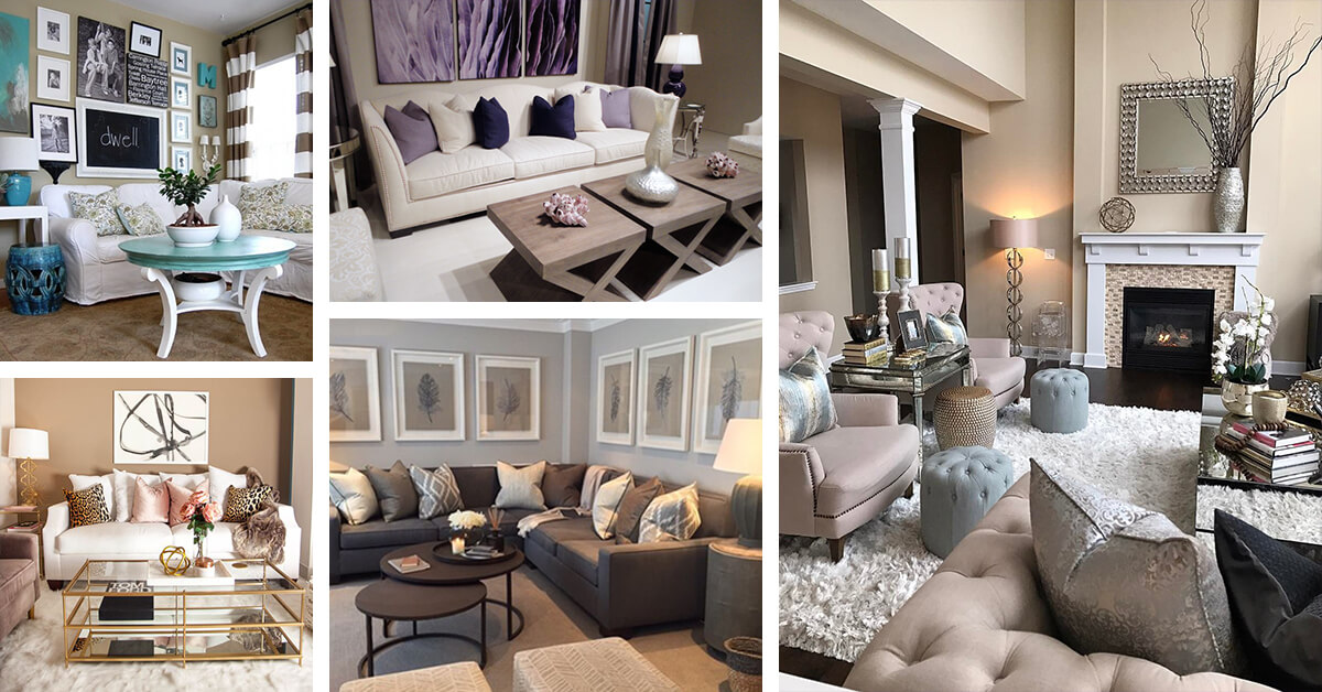 Blue Color Decoration Ideas For Living Room: 11 Best Living Room Color Scheme Ideas And Designs For 2017
