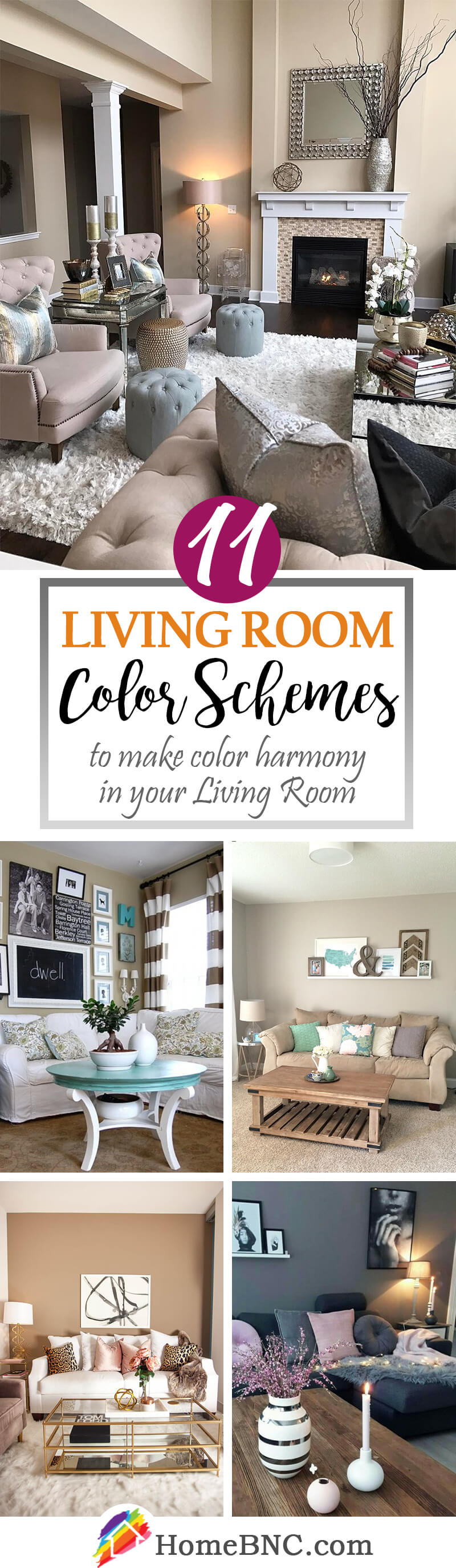 11 Living Room Color Schemes To Make Your Living Room Cozy