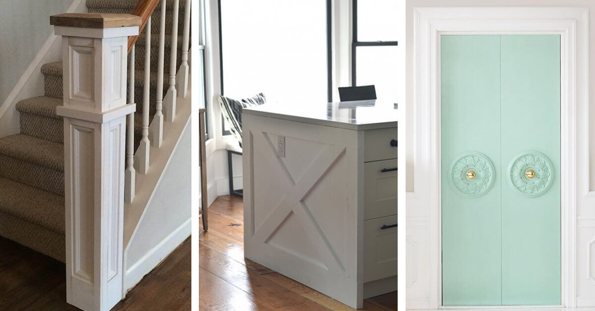 27 Creative Molding Ideas To Bring Instant Character Your Home